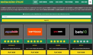 Güvenilir Bahis ve Casino Siteleri