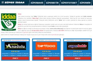 Süper İddaa - En İyi Bahis ve Casino Siteleri