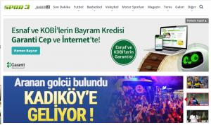 Spor 3 Türkiye'nin Spor Sitesi