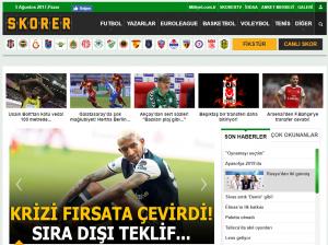 Skorer - Milliyet Spor | Spor Haberleri
