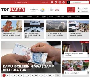 TRT Haber Türkiye'nin Haber Sitesi