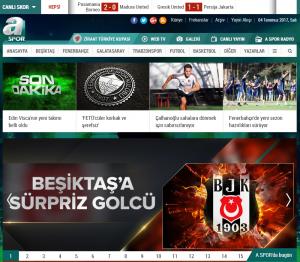 A Spor 1 Numaralı Spor Haber Sitesi